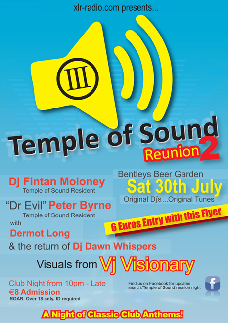 Temple of Sound - August 2011