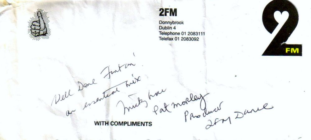 2FM thank you note